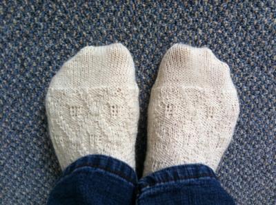 Moorings sock knitting pattern