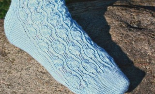 Rosenzweig sock pattern knitting