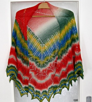 Follow Your Arrow Mystery Shawl by Ysolda Teague