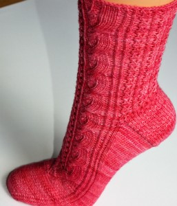 Knitting Pattern Rosaby Socks