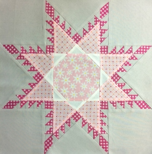 Feathered Star Quilt Block